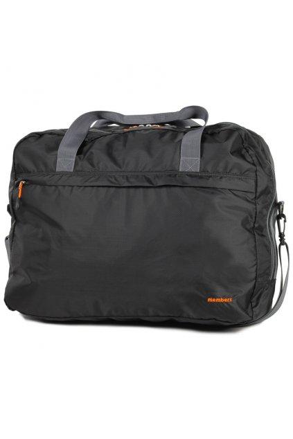 Cestovní taška skládací MEMBER'S SB-0045 - černá