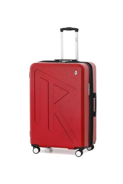 Cestovní kufr Raido Numero Uno Red Mood Line L