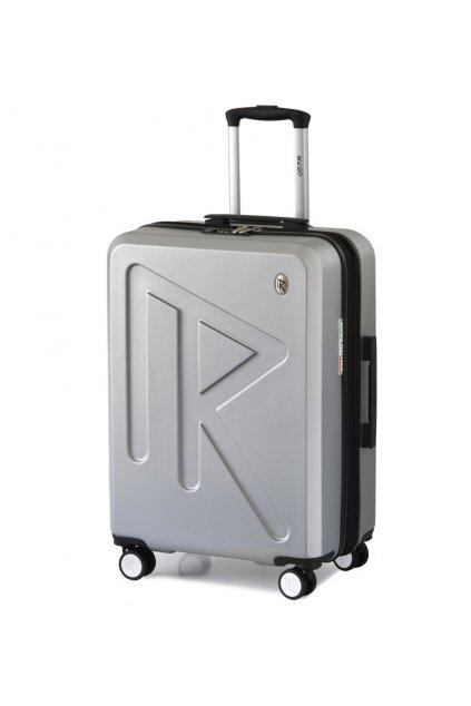 Cestovní kufr Raido Numero Uno Silver Mood Line L