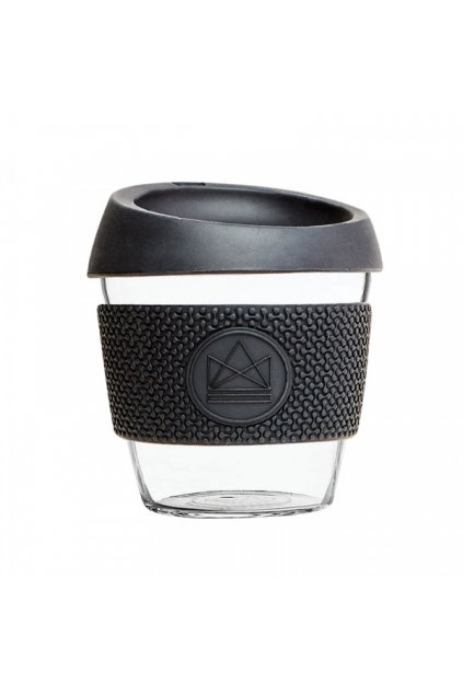 sklenen hrnek na kavu s 230 ml neon kactus cern (3)