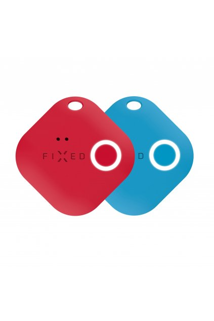Smart tracker FIXED Smile s motion senzorem, DUO PACK - červený + modrý