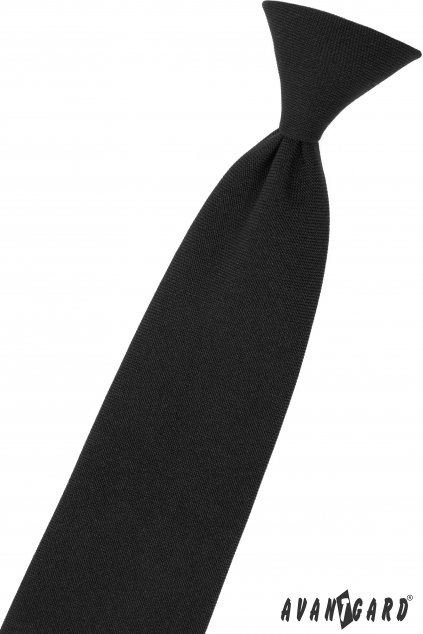 Černá chlapecká kravata