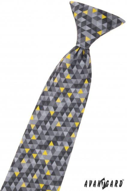 Vzorovaná chlapecká kravata