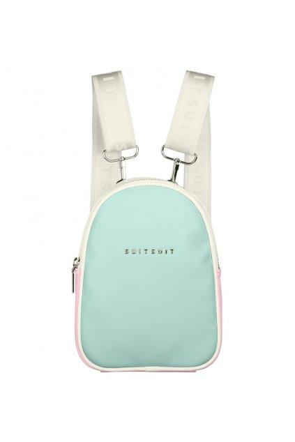 Batoh SUITSUIT® BF-33020 mini Fabulous Fifties Mint & Pink