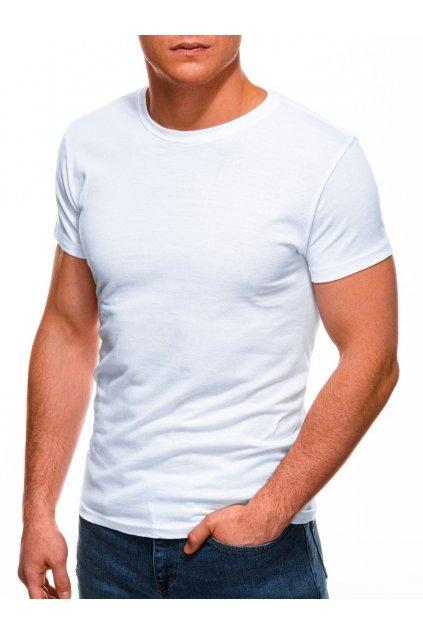 Bílé tričko s krátkým rukávem S970