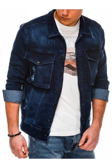 Pánská džínová bunda C403 - jeansová