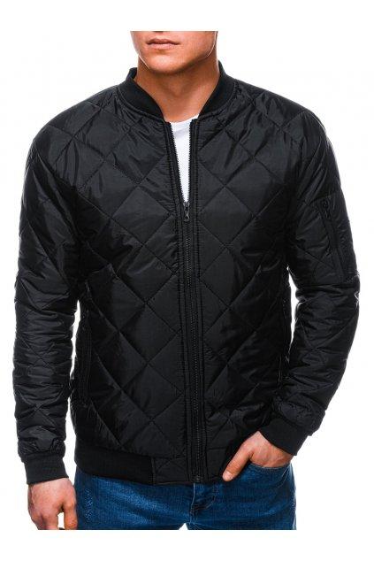 Pánská jarní bunda C397 - černá