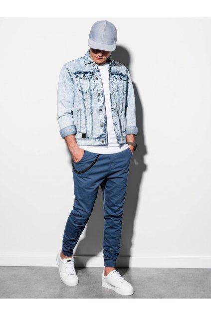 Pánská džínová bunda C441 - světle jeansová