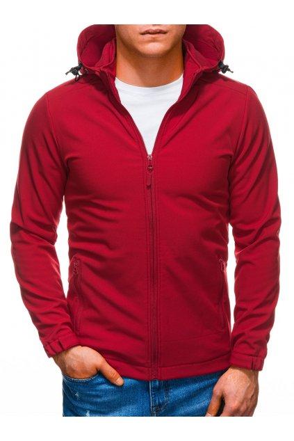 Pánská jarní bunda C488 - červená