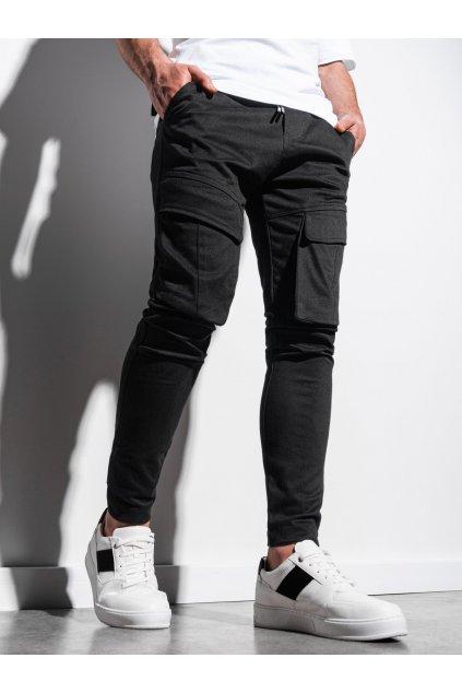 Pánské jogger kalhoty P999 - černá