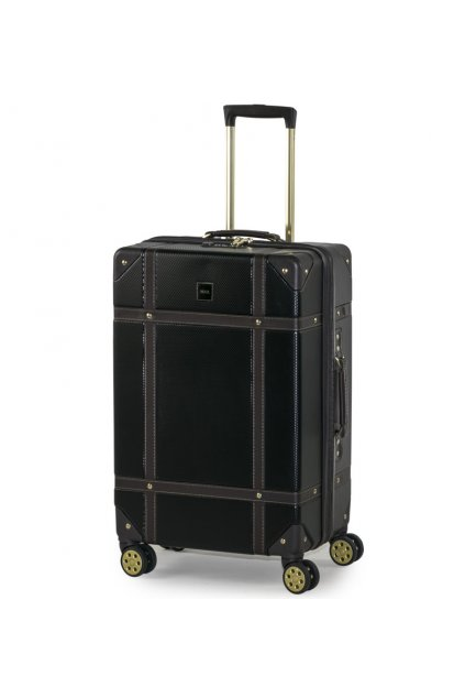 Cestovní kufr ROCK TR-0193/3-M ABS - černá