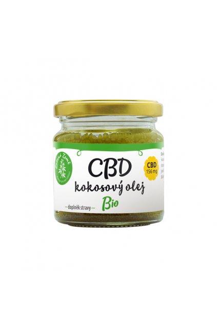 CBD kokosový olej 30ml