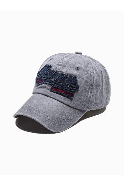 Men's cap H090 - grey