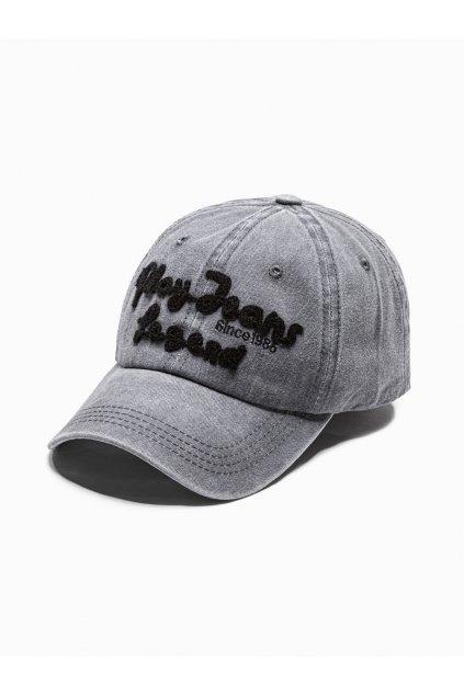 Men's cap H094 - grey
