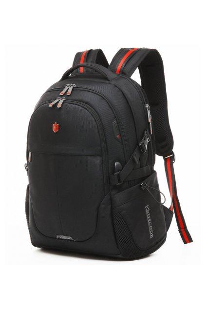 Batoh KRIMCODE Smart Casual 03 - černá bez USB