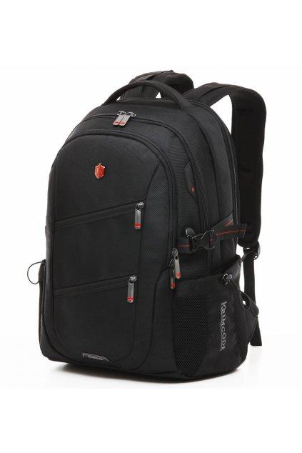 Batoh KRIMCODE Smart Casual 08 - černá bez USB