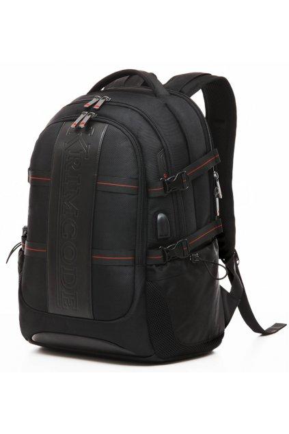 Batoh KRIMCODE Smart Casual 11 - černá bez USB