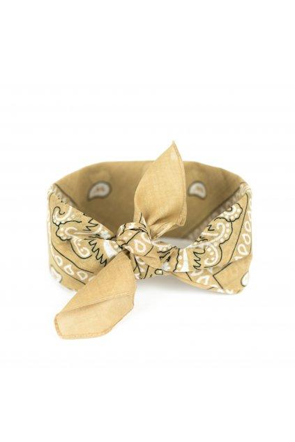 Šátek bandana - dárek ke kabelkám Vuch