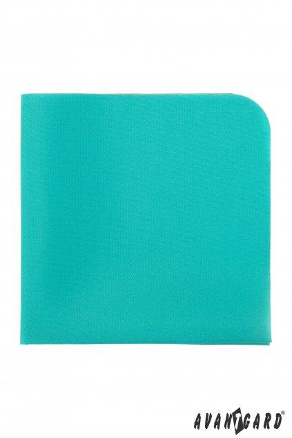 Zelený kapesníček do saka