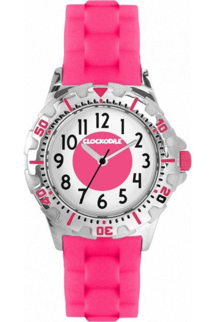 CLOCKODILE Svítící růžové sportovní dívčí dětské hodinky  SPORT 3.0 CWG0040