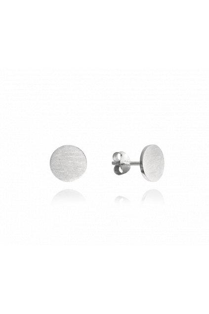 MINET Stříbrné náušnice  9 mm JMAN0181ZE09