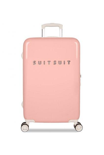 Cestovní kufr SUITSUIT® TR-1202/3-M - Fabulous Fifties Papaya Peach