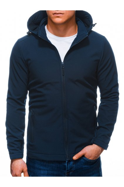 Pánská jarní bunda C488 - tmavě modrá