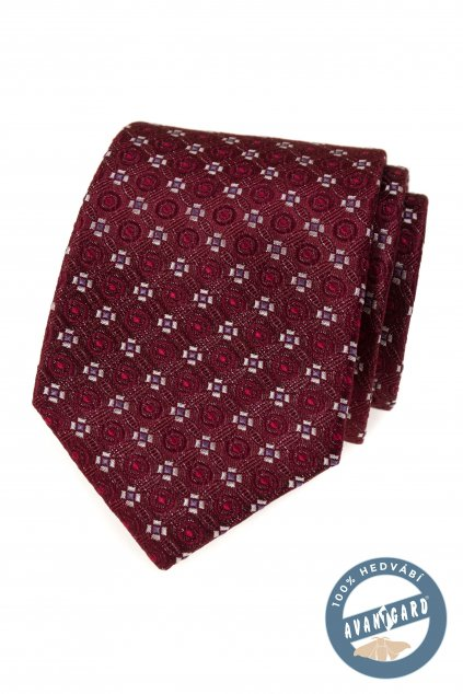 Kravata hedvábná v dárkové krabičce 621-7762-0