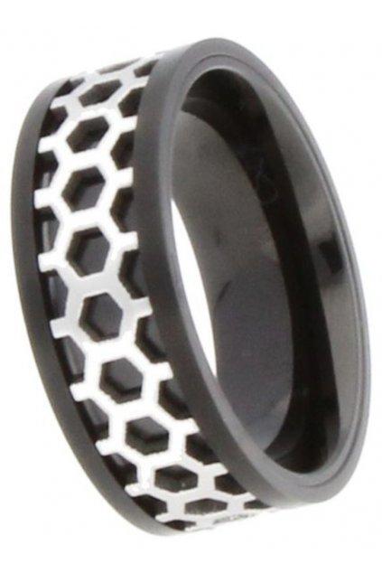 JVD Ocelový prsten SSR3.30H3