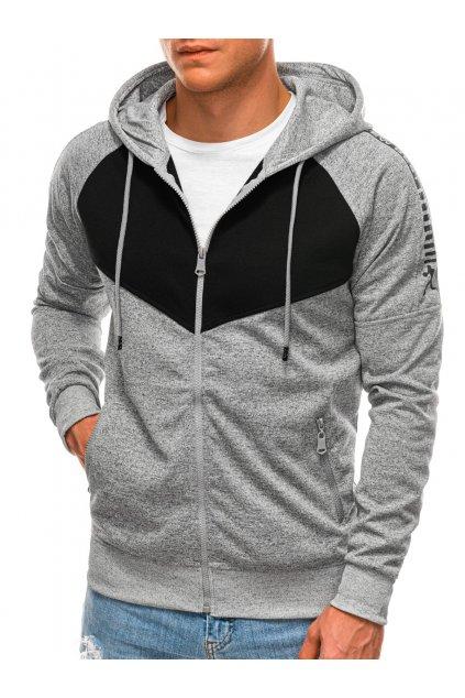 Men's hoodie B1360 - grey