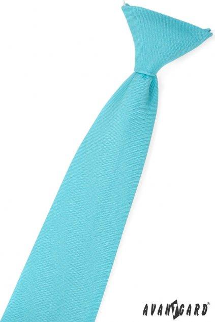 Tyrkysová dětská kravata