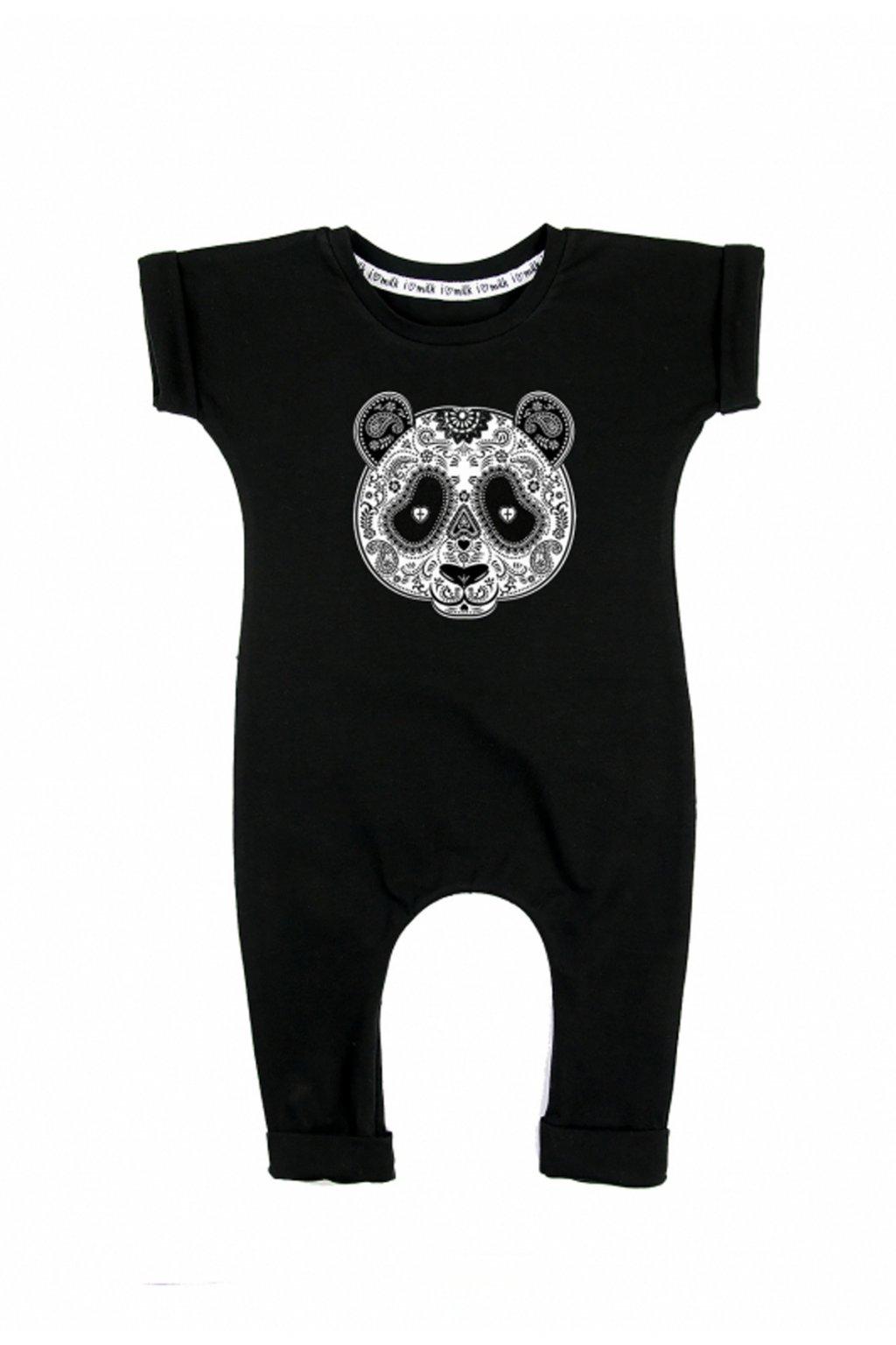 I LOVE MILK Overal Pandaskull 1