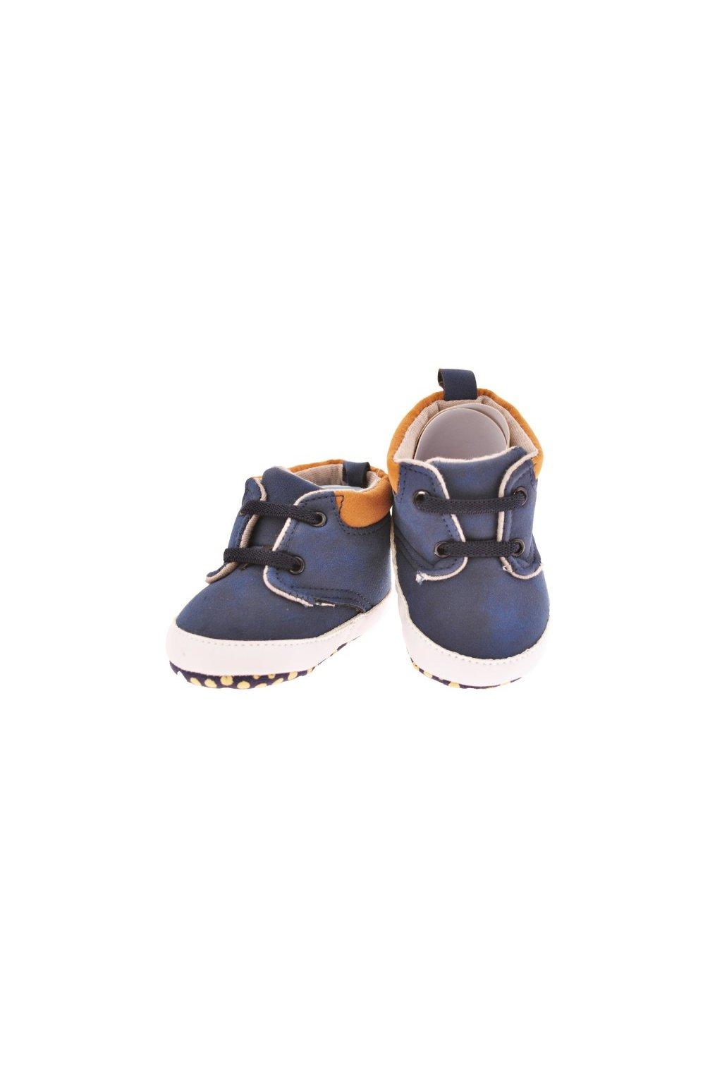 Wowmini - Elegantní capáčky (Barva tmavě modrá, Velikost 6-12m)