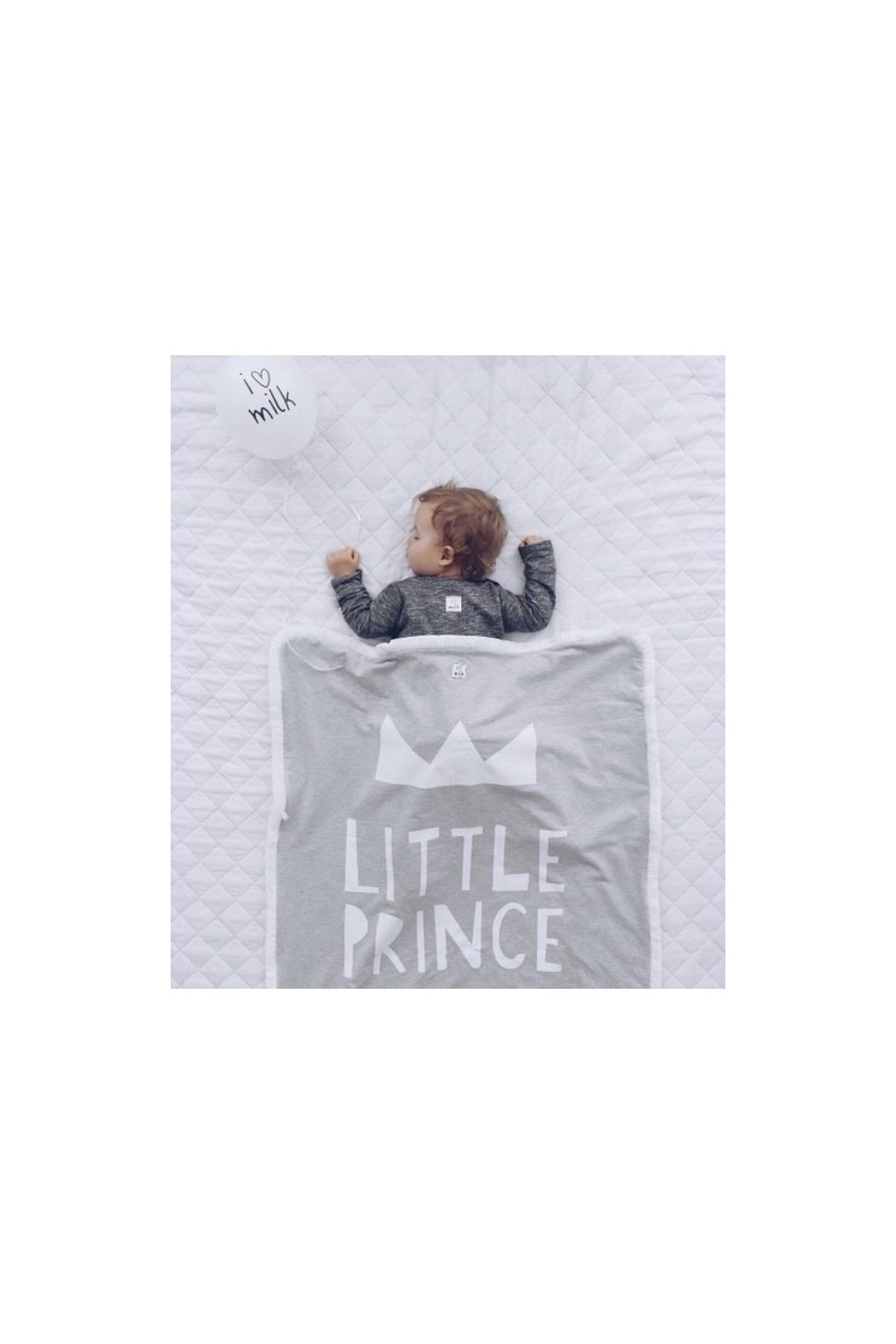"I LOVE MILK - Deka ""Little prince"""