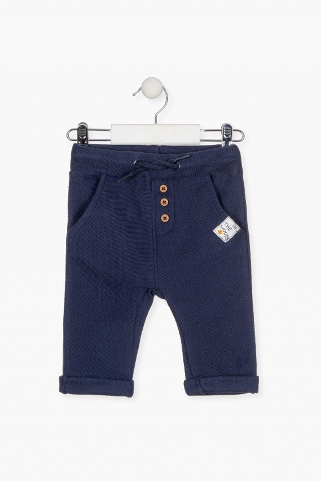 LOSAN - Bavlněné kalhoty (Barva Tmavě modrá, Velikost 92)