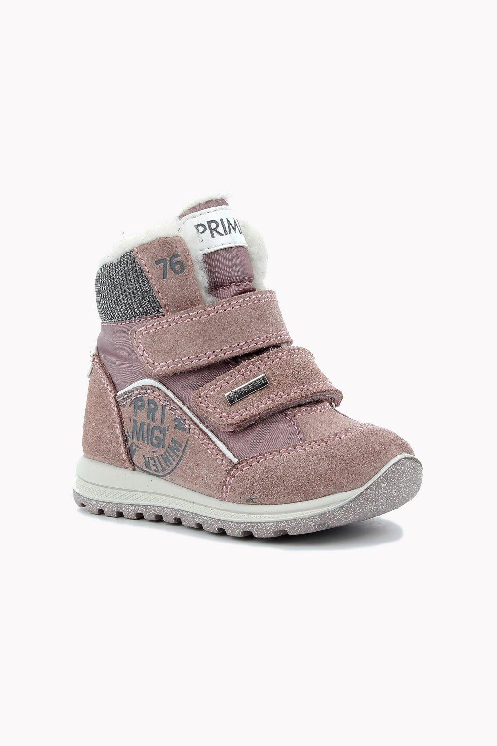 Primigi - GORETEX dívčí zimní obuv (Barva růžová, Velikost 29)