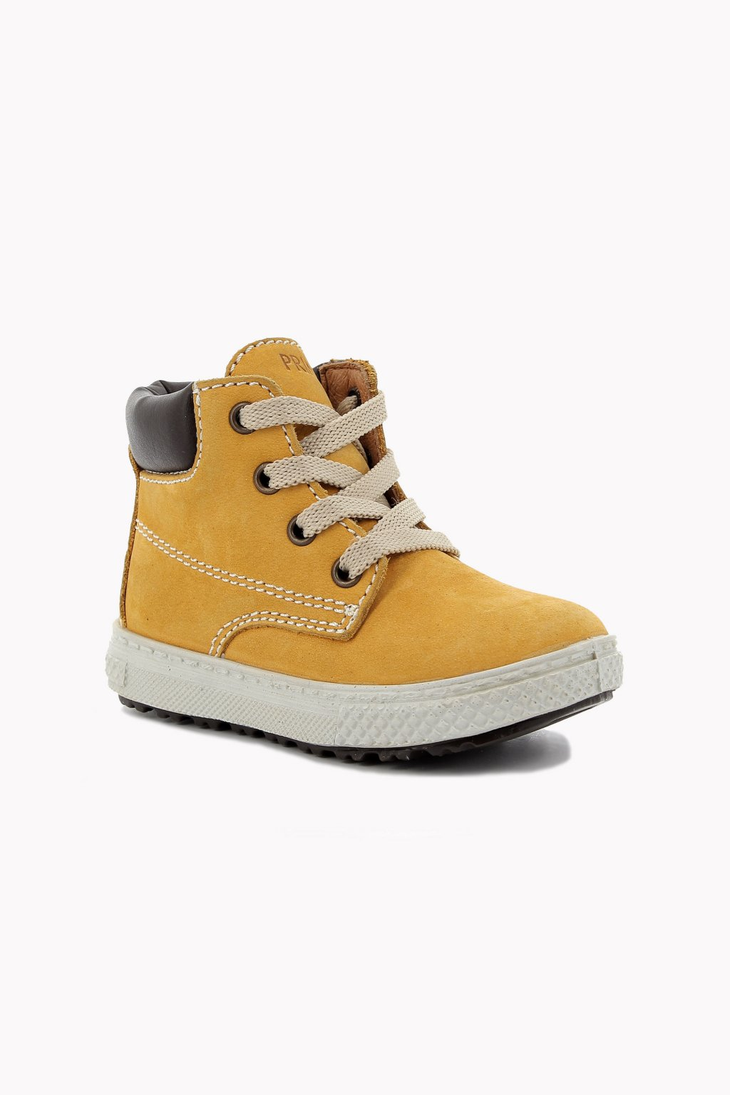 Primigi - Kožená chlapecká celoroční obuv (Barva Světle hnědá, Velikost 29)