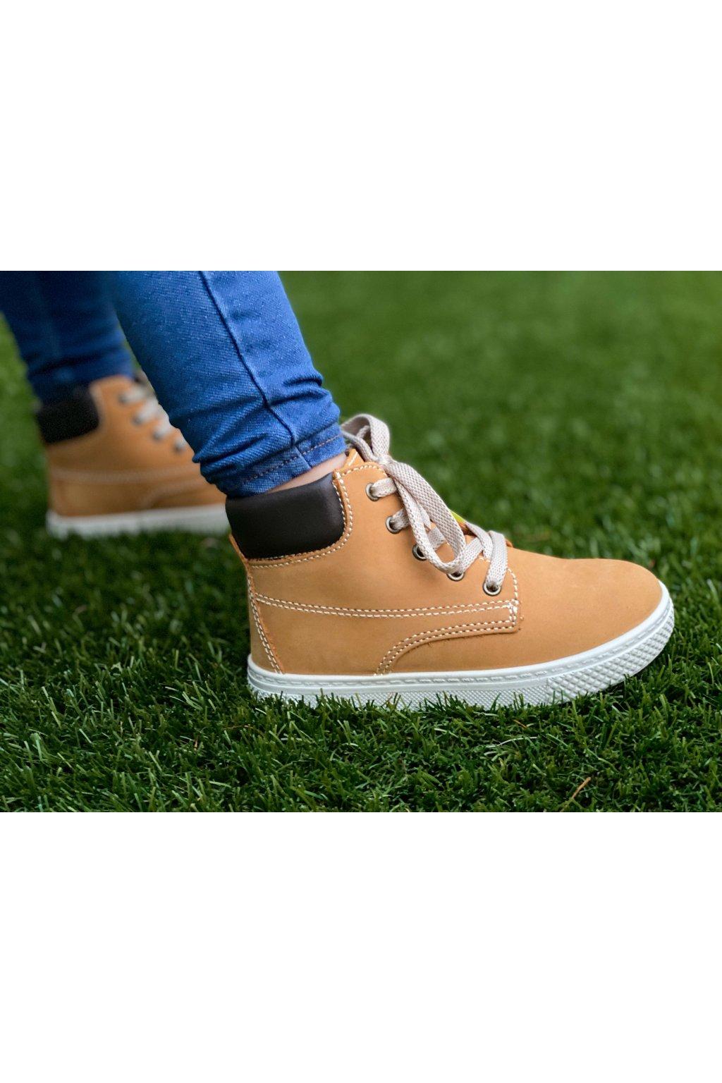 Primigi - Kožená chlapecká celoroční obuv
