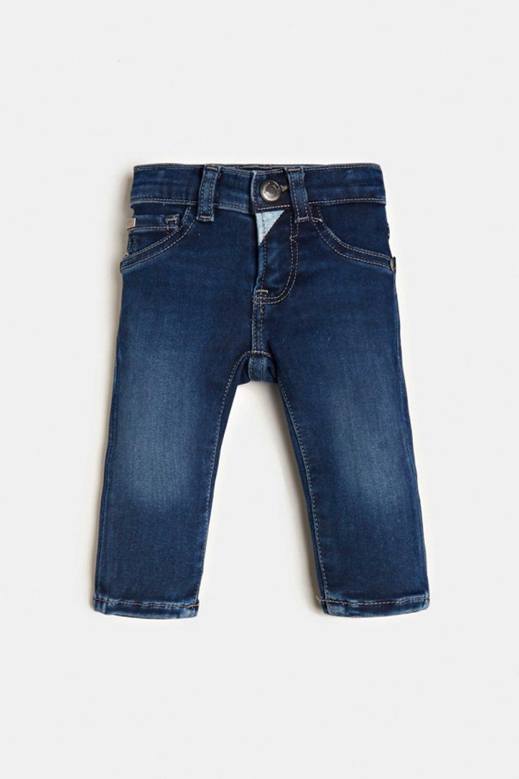 """Guess - Skinny džíny """"TODDLER SKINY PANTS""""  (Barva Tmavě modrá, Velikost 116)"""