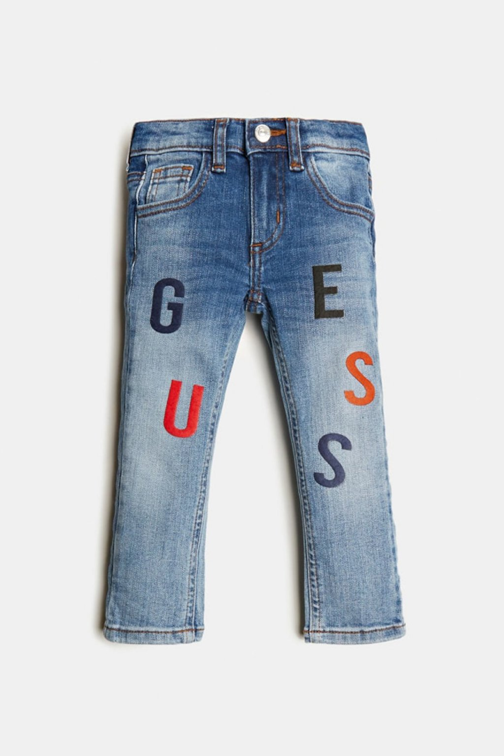 """Guess - Skinny džíny """"BABY SKINNY JEANS"""" (Barva Modrá, Velikost 68)"""