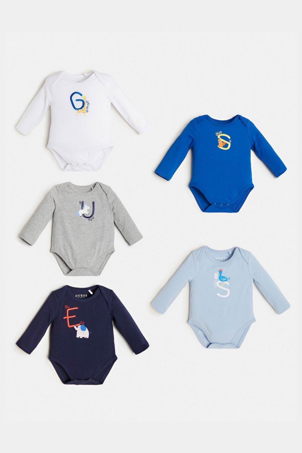 Guess - BABYBOY SET (5PACK) (Barva Modrá, Velikost 68)
