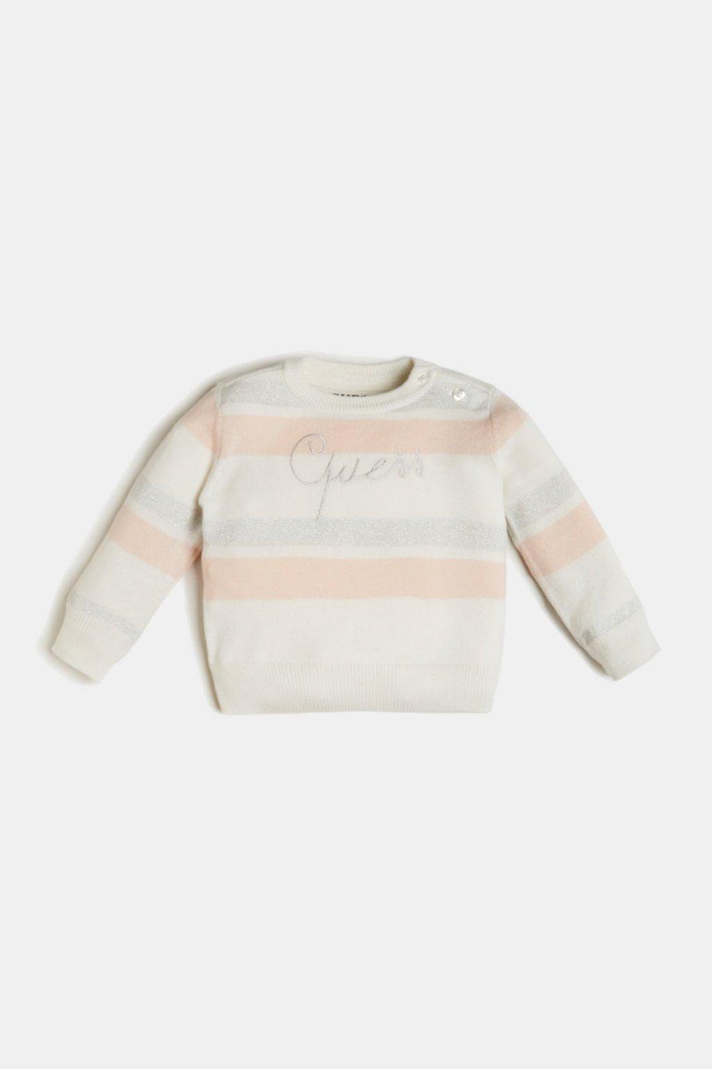 Guess - Elegantní svetr (Barva Béžová, Velikost 122)