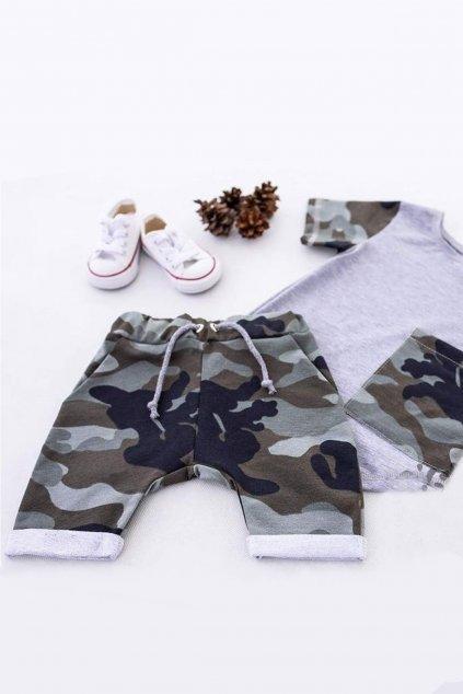 Bellu Fashion Kraťasy army