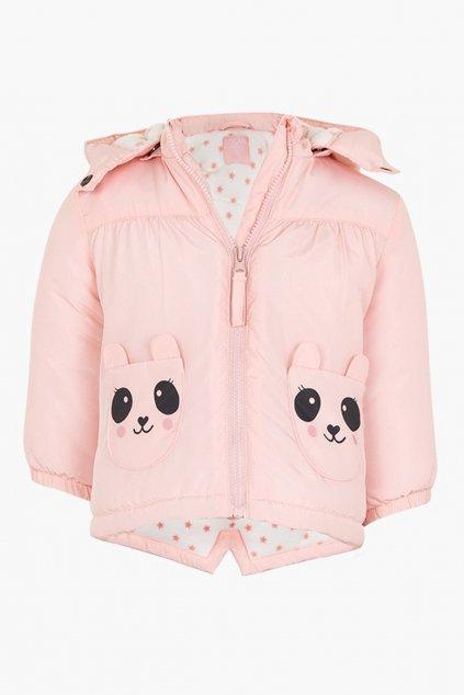 LOSAN - Zimní bunda (Barva Světle růžová, Velikost 92)