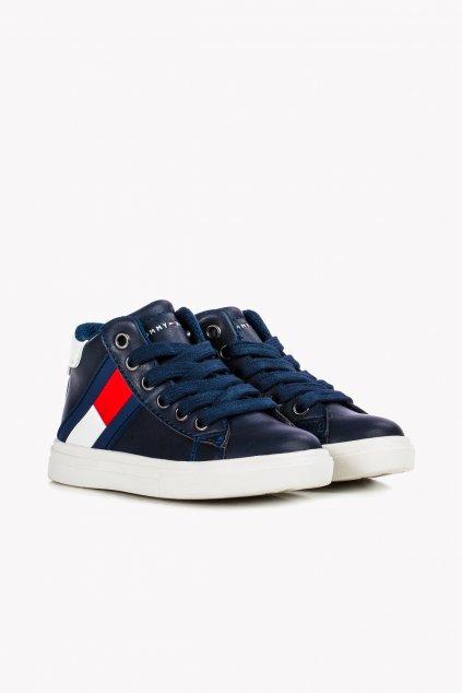 """TOMMY HILFIGER - Tenisky """"Low Cut Velcro Sneakers"""" (Barva Modrá, Velikost 29)"""