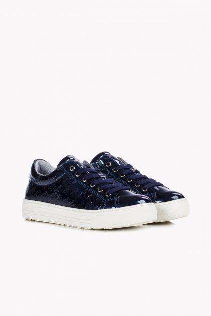 "TOMMY HILFIGER - Tenisky ""Low Cut Lace-up Sneakers"" (Barva tmavě modrá, Velikost 40)"