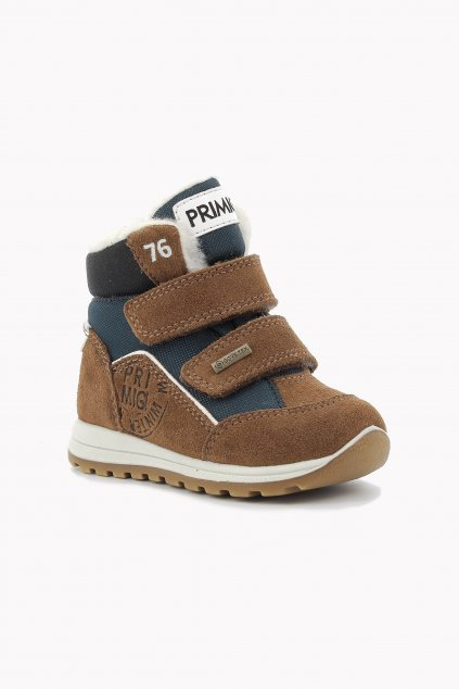 Primigi - GORETEX chlapecká zimní obuv (Barva hnědá, Velikost 29)
