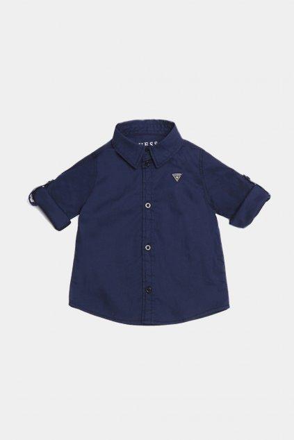Guess - Chlapecká košile (Barva Tmavě modrá, Velikost 122)