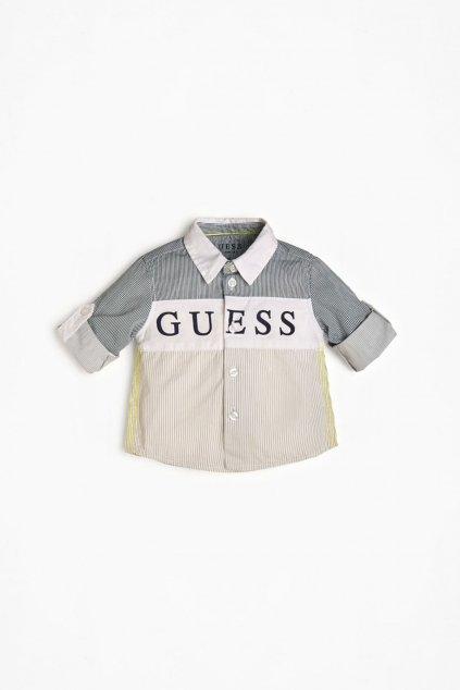 """Guess - Dětská košile """"GUESS"""" (Barva Béžová, Velikost 68)"""