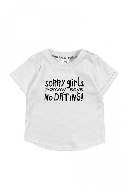 t shirt dzieciecy sorry girls